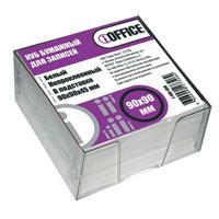 Подст.-бокс проз.офсет бумага 9*9*4,5  iOffice 65г/см, белизна 90-92% купить оптом и в розницу