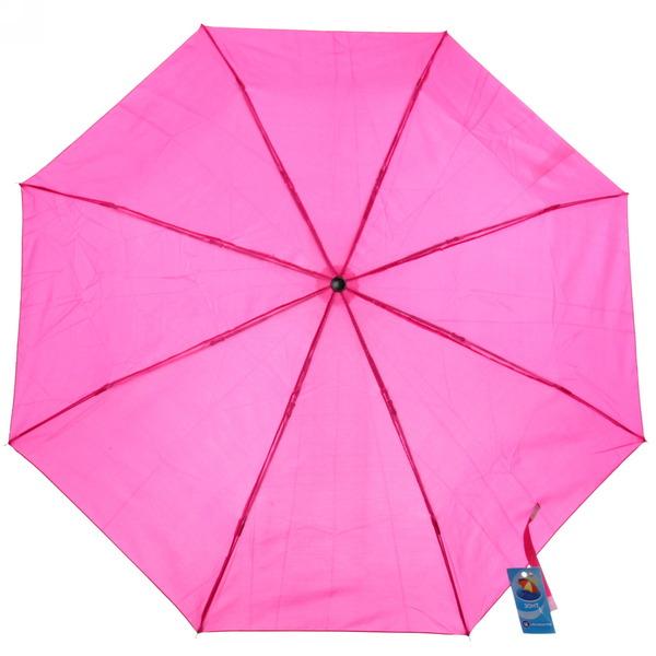 Зонт женский механический ″Эстетика″ цвет фуксия, 8 спиц, d-100см, длина в слож. виде 23см купить оптом и в розницу