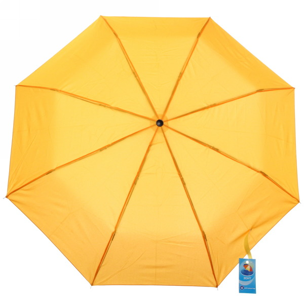 Зонт женский механический ″Эстетика″ цвет желтый, 8 спиц, d-99см, длина в слож. виде 23см купить оптом и в розницу