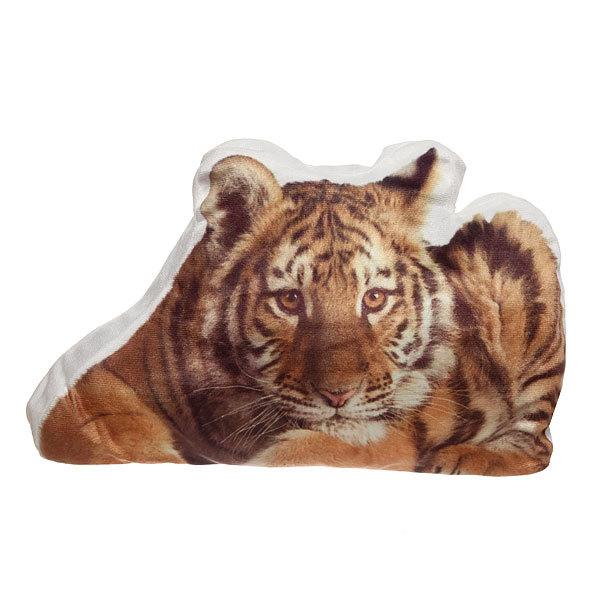 Подушка декоративная 43*27см ″Тигр с фотопечатью″ купить оптом и в розницу