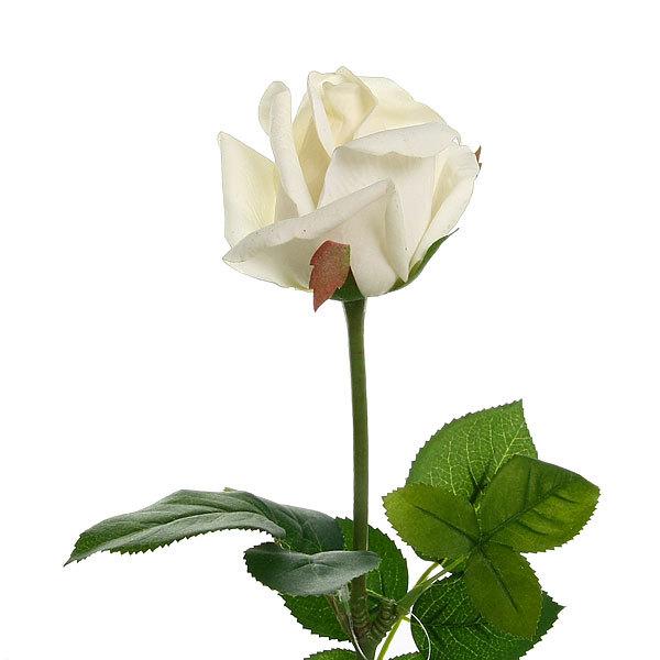 Цветок искусственный 60см декоративный Роза 9115 купить оптом и в розницу