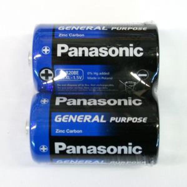 Элемент питания Panasonic R20 Gen.Purpose/пленка 2 шт, 1.5В (1/12) купить оптом и в розницу