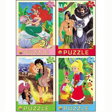 Пазл 54 Любимые мультфильмы П54-3664 купить оптом и в розницу