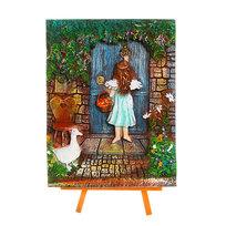 Картина-Панно из керамики 17,5*25см ″Ангел″ С5010 купить оптом и в розницу