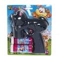 Пистолет с мыльными пузырями Кот на бат, 2 мыльн пуз., бл купить оптом и в розницу