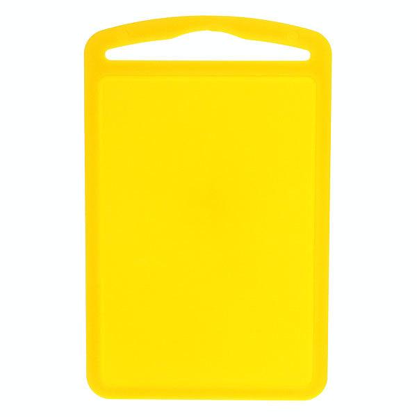 Доска разделочная пластиковая большая желтая 32*20см купить оптом и в розницу