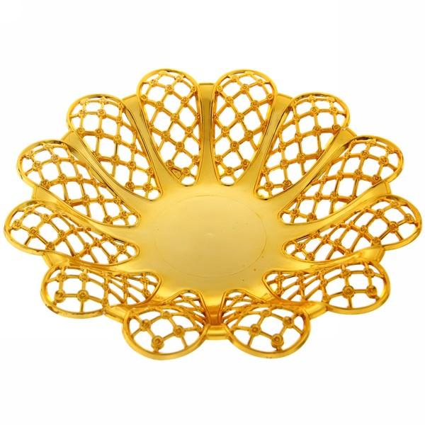 Фруктовница ″Азиза″ золото 5 купить оптом и в розницу