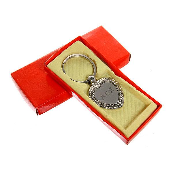 Брелок металлический в коробочке ″Женские имена″, в ассортименте, 4см купить оптом и в розницу