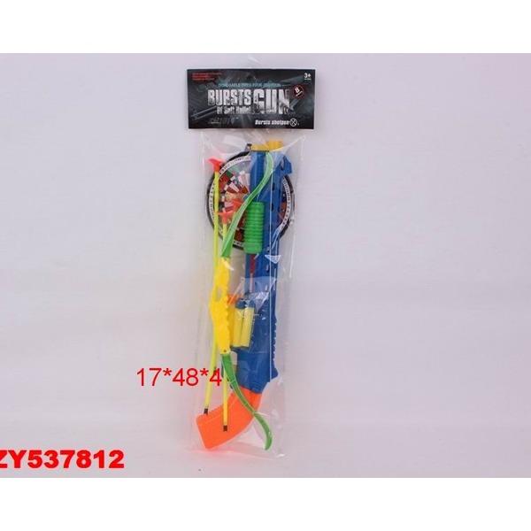 Пистолет 6289-36А с присосками в пак. купить оптом и в розницу