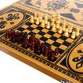 Игра настольная 2 в 1 (шахматы, нарды) 40*40 см купить оптом и в розницу
