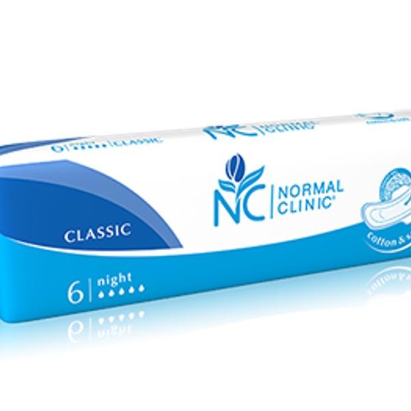 Прокладки женские NORMAL cliniс Classic ″COMFORT″ - silk & dry - 5 капель, 280 мм 6шт купить оптом и в розницу