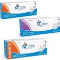 Ультратонкие прокладки ежедневные NORMAL cliniс - cotton & slim- 150 мм, в картон. коробке, без и/у 20шт купить оптом и в розницу