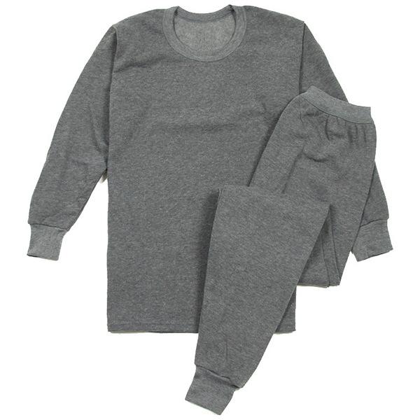 Комплект термобелья, рубашка и брюки Goai Keeper, хлопок 100%, светло-серый, р-р L (комплект) купить оптом и в розницу