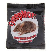 Зерно от грызунов Супермор 42 гр. (6 фильтр-пакетов по 7 гр.) купить оптом и в розницу