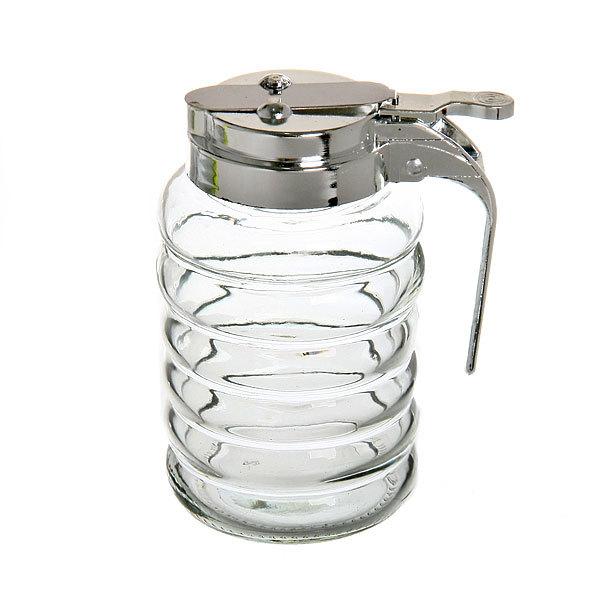 Сахарница стеклянная с дозатором спираль купить оптом и в розницу