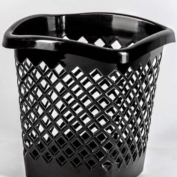 """Корзина для мусора """"Офис"""" квадратная 1/10 купить оптом и в розницу"""