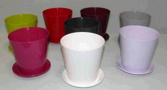 Кашпо Вулкано 13  1,1л бел*10  Form plastic купить оптом и в розницу