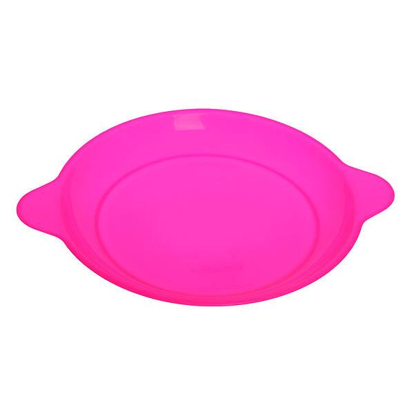 Тарелка пластиковая круглая с ручками 22,5см купить оптом и в розницу