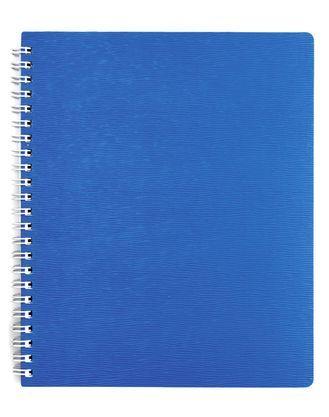 """Тетрадь 80л.кл.гребень HATBER, """"Wood"""" голубая, пластик.обл. купить оптом и в розницу"""