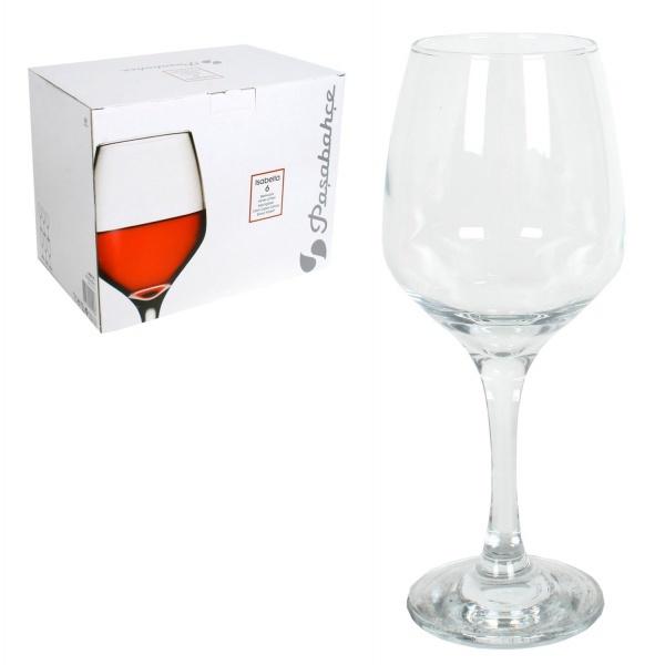 Набор фужеров д/белого вина ИЗАБЕЛЛА 6 шт 385 мл (1/4) купить оптом и в розницу