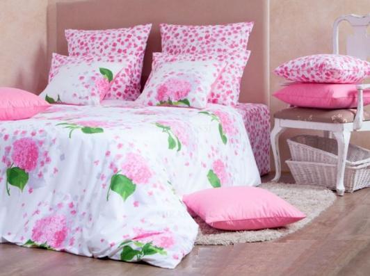 1,5 перкаль-люкс Virginia pink 3007/2 Хлопковый Край купить оптом и в розницу