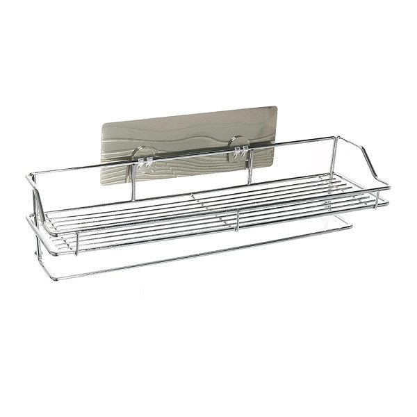 Полка для ванны металлическая с липким слоем SQ-5001 купить оптом и в розницу