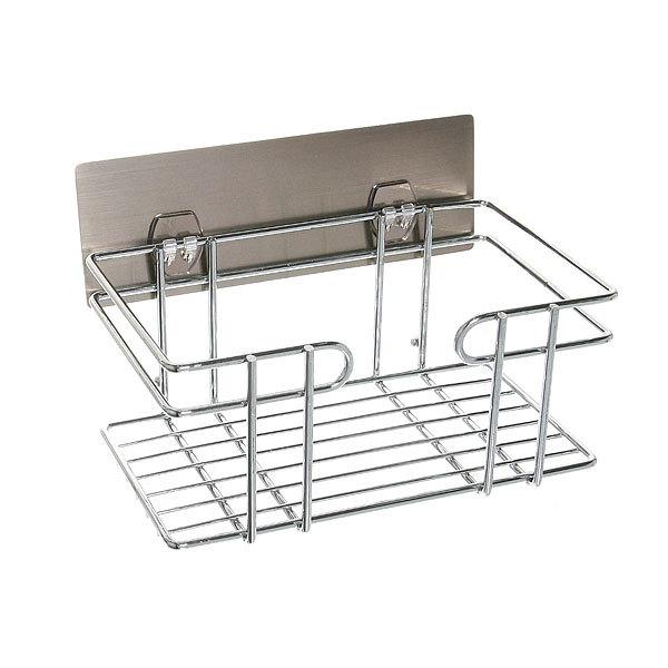 Полка для ванны металлическая с липким слоем SQ-5007 купить оптом и в розницу