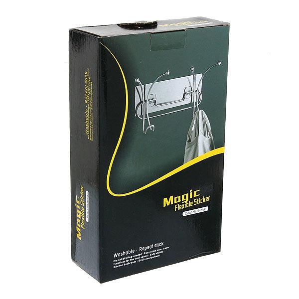 Крючок металлический двойной с липким слоем SQ-5010 купить оптом и в розницу