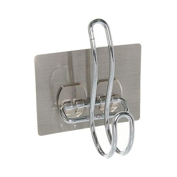 Крючок металлический с липким слоем SQ-5019 купить оптом и в розницу