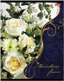 """Тетрадь 48л.кл.гребень HATBER, """"Flowers"""", выб.лак купить оптом и в розницу"""