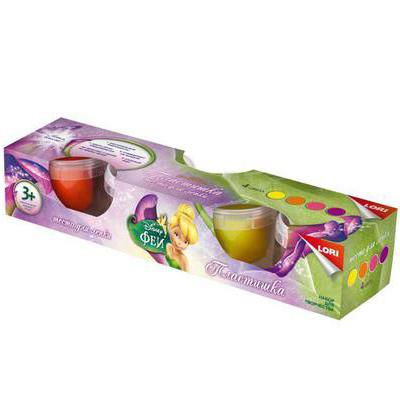 Набор ДТ Тесто для лепки Disney Феи 4 цв. Тдд-005 Lori купить оптом и в розницу