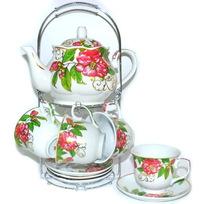Набор чайный 13 предметов″Барбарис″ (6 чашек, 6 блюдец, чайник) купить оптом и в розницу