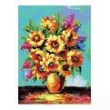 Набор ДТ Картина со стразами Солнечные цветы GL037 купить оптом и в розницу