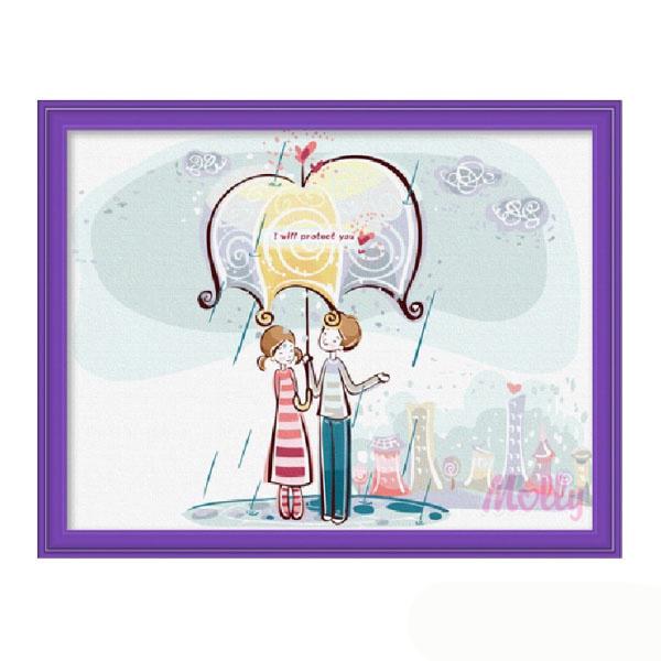 Набор ДТ Картина по номерам Непогода Е027 купить оптом и в розницу