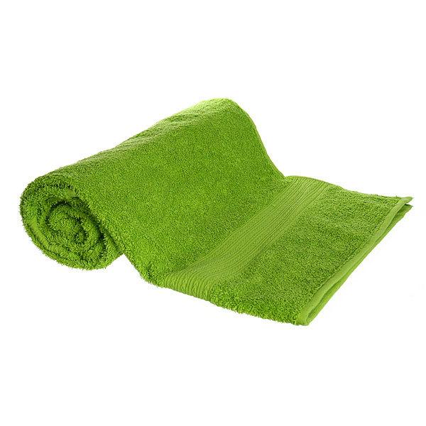 Махровое полотенце 70*140см зеленое ЭК140 Д01 купить оптом и в розницу