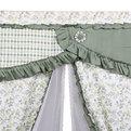 Шторы Прованс 150*150см 2шторы+тюль зеленая листва купить оптом и в розницу