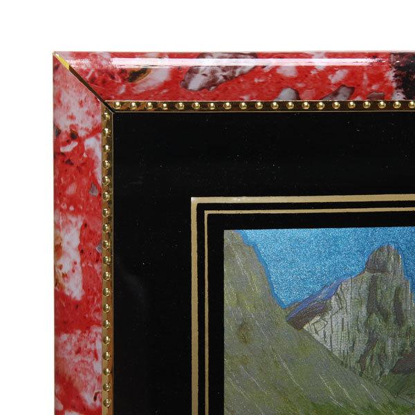 Картина-панно из пластика ″Горная речка″ 16*20 см купить оптом и в розницу