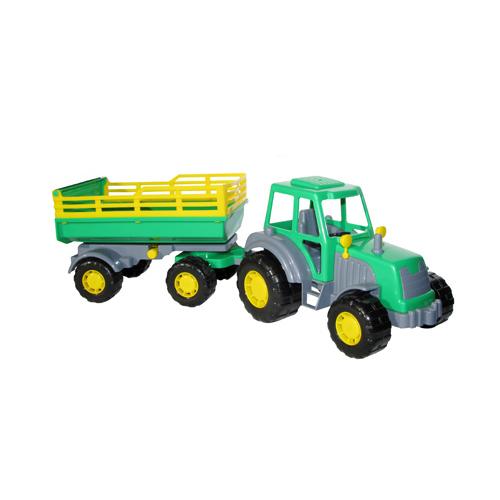 Трактор Мастер с прицепом №2 35271 П-Е /6/ купить оптом и в розницу