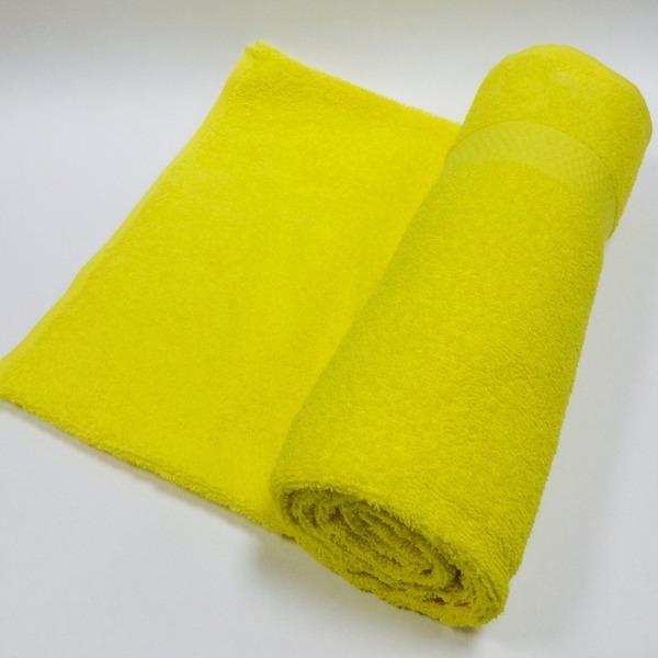 Полотенце махровое 50х90 цв.желтый Марьины узоры купить оптом и в розницу