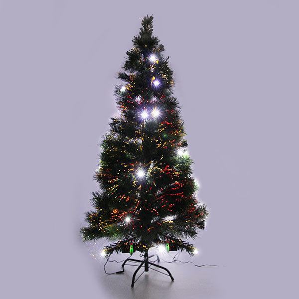 Елка светодиодная 150см оптоволокно + 28 LED белых WSZW2-5 купить оптом и в розницу