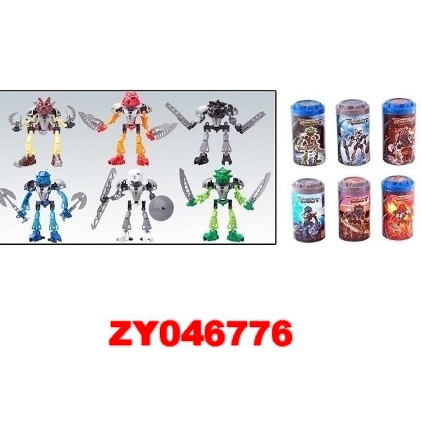 Робот Бионикл 8811-8816 6 видов в банке купить оптом и в розницу