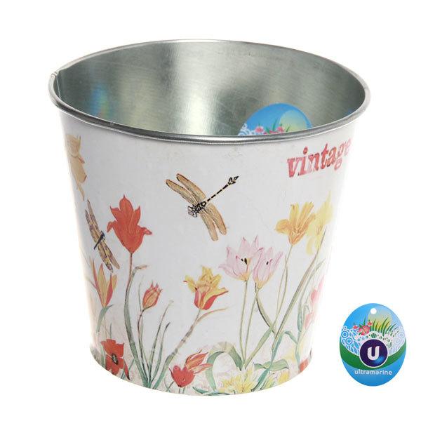 Кашпо для цветов ″Тюльпаны″ 13х11,5см 13-1299 купить оптом и в розницу