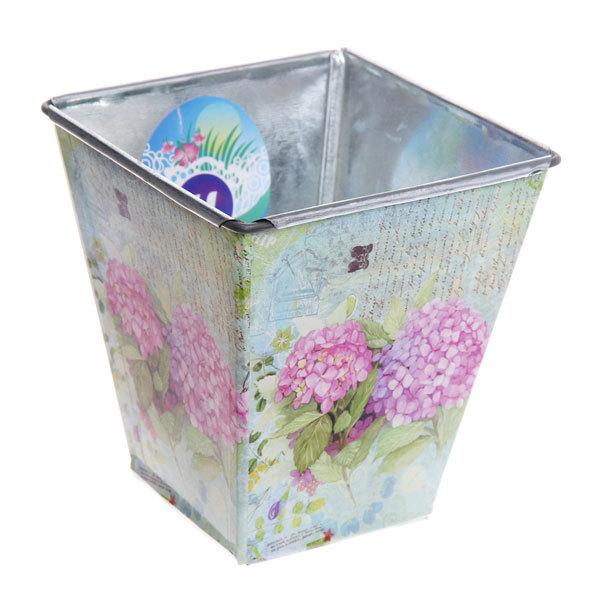 Кашпо для цветов ″Вдохновение″ 10,5х11,5см 13-1237 купить оптом и в розницу