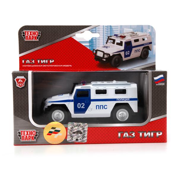 Модель 600-09053XHR ГАЗ Тигр Полиция 6408ВТехнопарк  в кор. купить оптом и в розницу