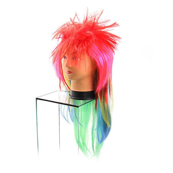 Парик карнавальный ″Модный стайл″ розовый цв 999-3 купить оптом и в розницу