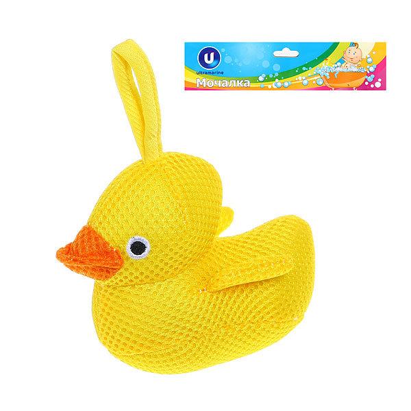 Мочалка для тела детская текстильная ″Рыбки″ 16*7см купить оптом и в розницу