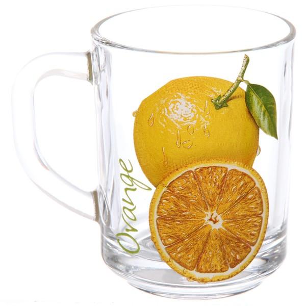Кружка 200мл ″Апельсин″ купить оптом и в розницу
