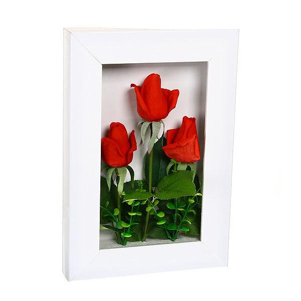 Картина-панно из пластика 33*22см Розы купить оптом и в розницу