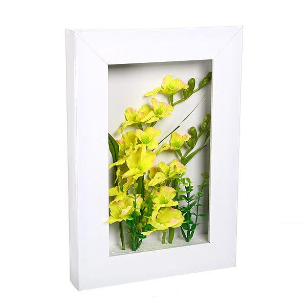 Картина-панно из пластика 33*22см Цветы купить оптом и в розницу