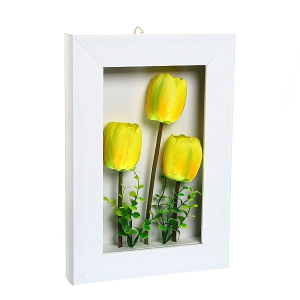 Картина-панно из пластика 33*22см Тюльпаны G001 купить оптом и в розницу